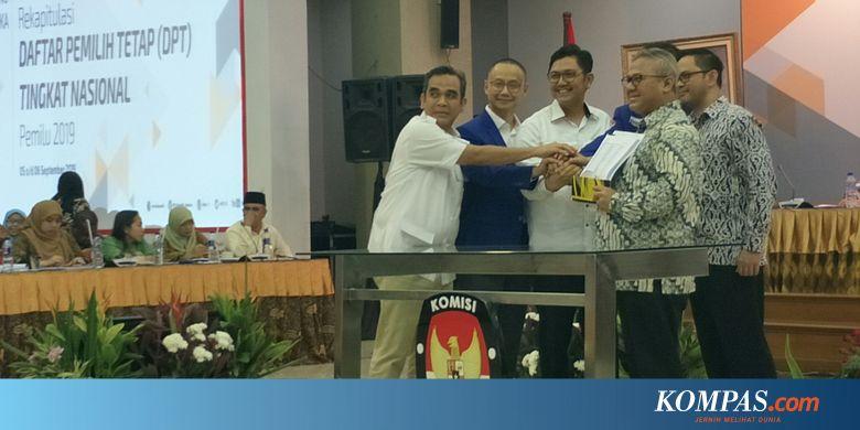 Koalisi Prabowo-Sandi Serahkan Temuan Data 25 Juta Pemilih