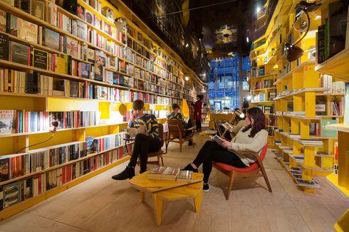 6 Toko Buku Keren, Dijamin Bikin Betah Membaca