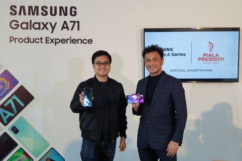 Samsung Galaxy A71 Jadi Smartphone Resmi Piala Presiden Esports 2020
