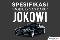 Berapa Harga Mobil Dinas Jokowi Mercy S600 Guard?
