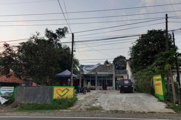 Pesantren di Warunggunung, Lebak, Banten, lokasi penangkapan terduga teroris, Jumat, (13/8/2021).