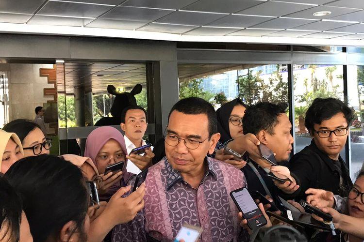 Staf Khusus Menteri BUMN Arya Sinulingga di Kementerian BUMN, Jakarta, Selasa (19/11/2019).