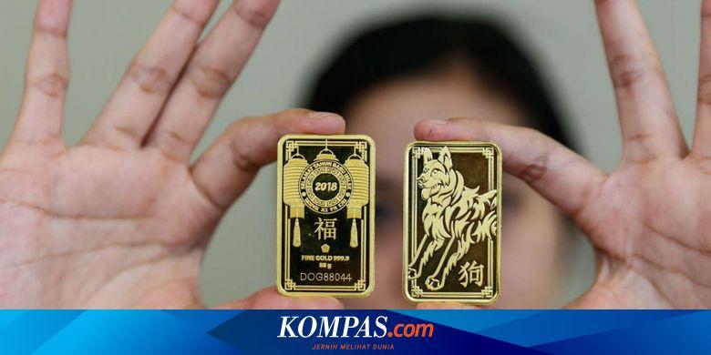 Harga Emas Antam Turun Rp 7.000, Berikut Rincianny