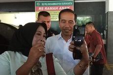 Kembali Jenguk La Lembah Manah di Rumah Sakit, Presiden Jokowi Diajak Warga Selfie
