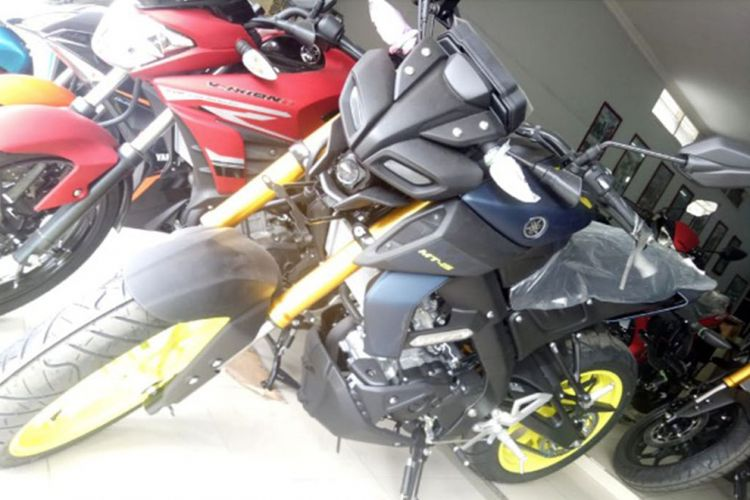 Yamaha MT-15 sudah tersedia di diler Yamaha sebelum peluncuran resmi