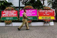 Djarot Kaget Karangan Bunga Berdatangan Lagi ke Balai Kota