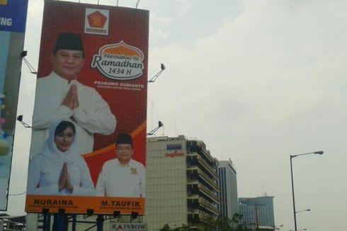 Baliho Prabowo-Nuri Shaden