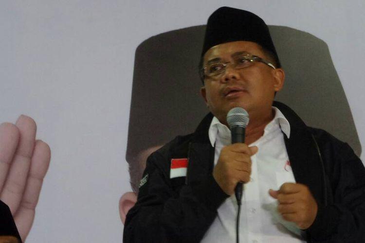 Presiden Partai Keadilan Sejahtera (PKS) Sohibul Iman di Kantor DPP Partai Gerindra, Ragunan, Jakarta Selatan, Rabu (19/4/2017).