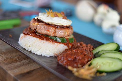 Resep Nasi Burger, Kreasi Sarapan Biar Tidak Bosan