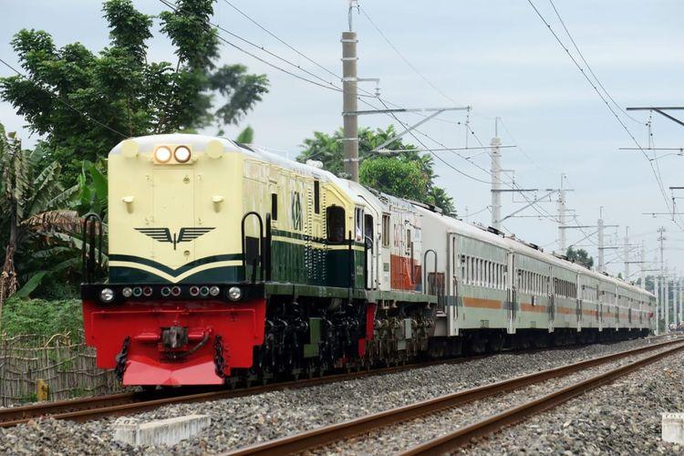 Lokomotif tahun 1953 ? 1991 ?hidup lagi? dalam bentuk 1 unit lokomotif CC 201.