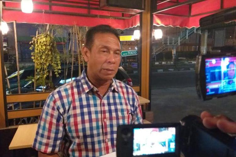 Kabid Humas Polda Sumsel Kombes Pol Supriadi saat memberikan keterangan terkait bentrokan di Empat Lawang, Kamis (1/8/2019).