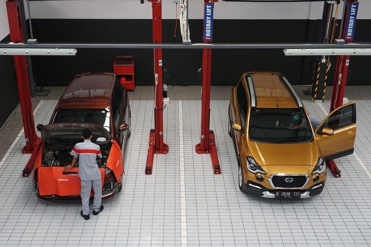 Ilustrasi Bengkel Nissan yang juga melayani produk Datsun