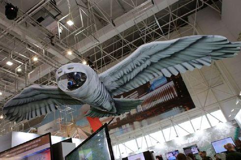 Rusia Pamerkan Drone Baru Mirip Burung Hantu Harry Potter