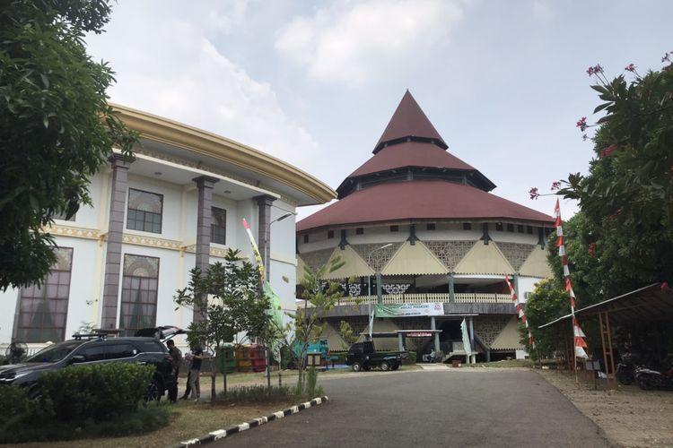 Kawasan Perkampungan Budaya Betawi Setu Babakan di Ciganjur, Jagakarsa, Jakarta Selatan pada Jumat (3/9/2021).
