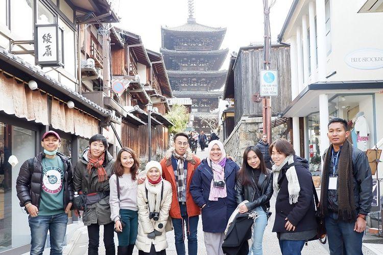 Peserta program Winter Japan Culture Camp.