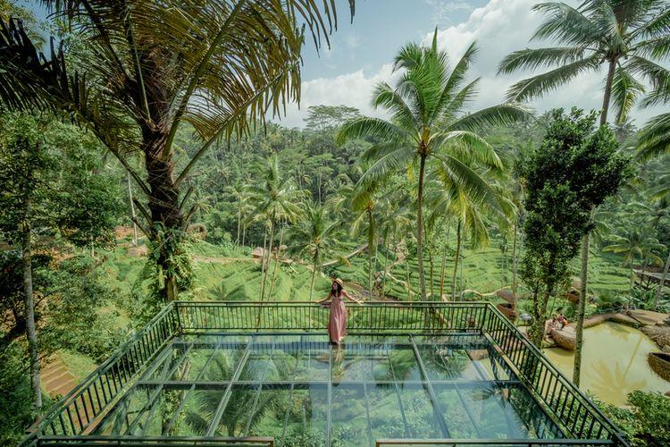 Alas Harum Agrotourism di Tegallalang, Bali.