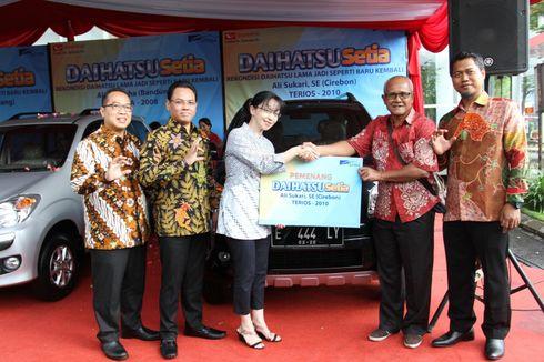 Daihatsu Serahkan 3 Mobil Rekondisi di Bandung