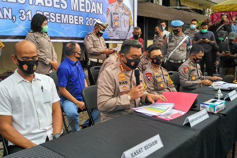 Malam Tahun Baru di Medan, 5 Jalan Ditutup dan Tempat Hiburan Wajib Tutup 21.00 WIB