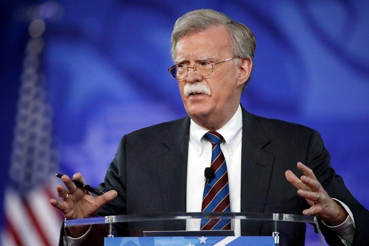 Penasihat Keamanan Amerika Serikat yang baru, John Bolton.