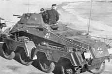 5 Kendaraan Lapis Baja Andalan Nazi Jerman pada Perang Dunia II