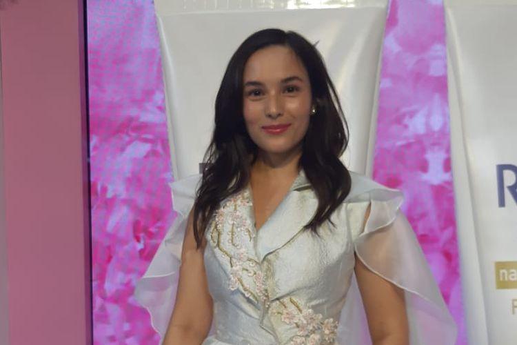 Chelsea Islan berpose dalam sebuah acara di Kota Kasablanka, Jakarta Selatan, Kamis (19/9/2019).