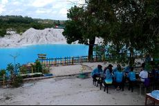 Yuk, Gowes dan Berjemur di Danau Kaolin, Obyek Wisata di Era