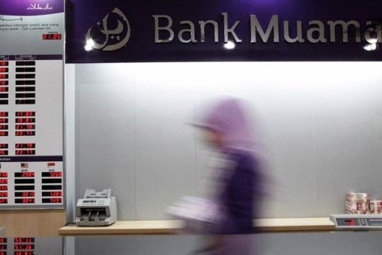 Kantor pusat Bank Muamalat di Jakarta.