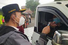 Tak Punya Hasil Rapid Test Antigen, Sejumlah Kendaraan Putar Balik di Perbatasan Banyumas