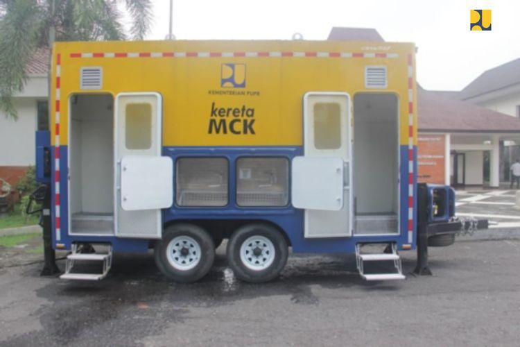 Kementerian PUPR Kembangkan Teknologi Kereta MCK Untuk Dorong Budaya Hidup Bersih Cegah COVID-19