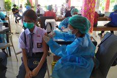 Bahagianya Anak-anak di Bali Ikut Vaksinasi Covid-19, Berharap Sekolah Segera Dibuka