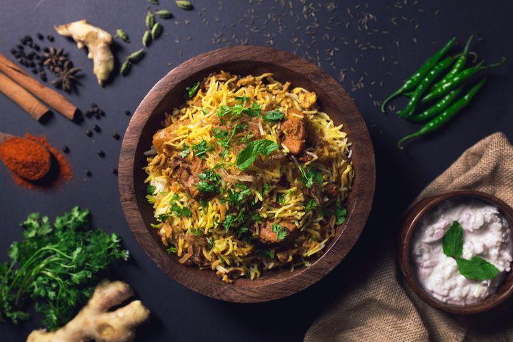 Biryani, sajian khas Asia Selatan cocok untuk sajian perayaan Idul Adha