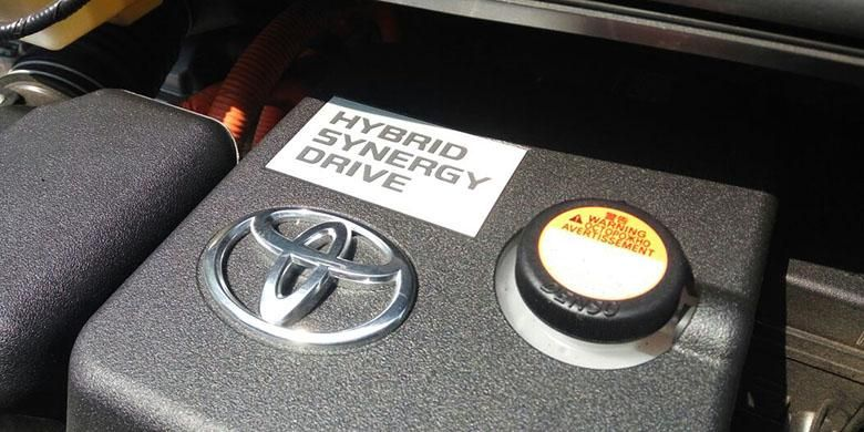 Teknologi mesin hybrid Toyota