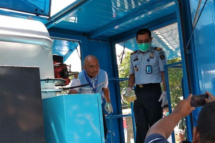 Petugas BNN Jabar Musnahkan puluhan kilogram sabu dan ganja