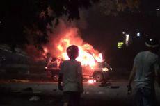 Polisi Buru Pelaku Perusakan Pos Polisi dan Videotron di Makassar