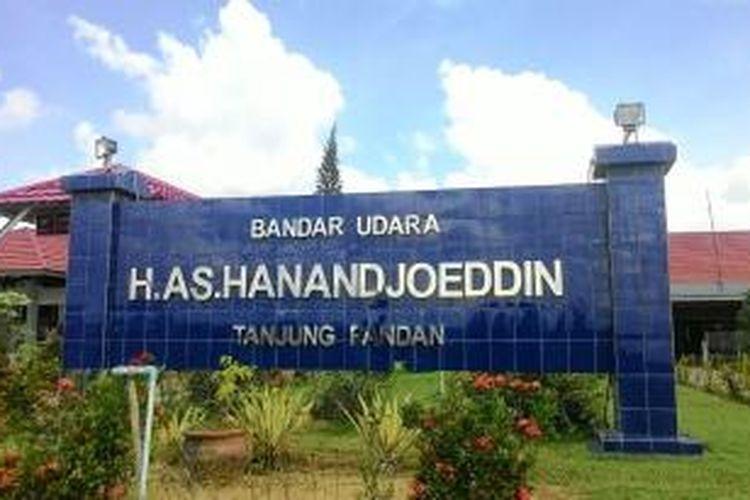 Bandara Hadandjoeddin Tanjung Pandan, Belitung, Kamis (21/5/2015)