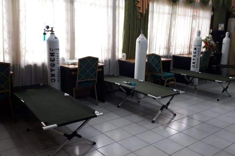 Rumah oksigen disiagakan di 7 lokasi di Kota Pontianak, Kalimantan Barat, Senin (16/9/2019)