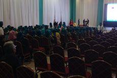 Tamu Perempuan Dominasi Acara Deklarasi Airin-Benyamin di Tangsel