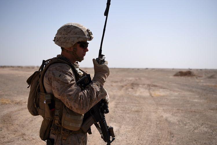 Personel tentara AS di Afghanistan.