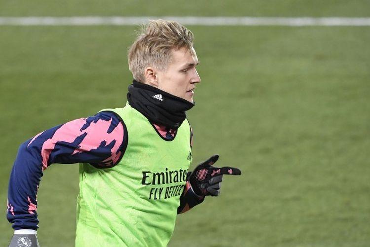 Pemain Real Madrid, Martin Odegaard.