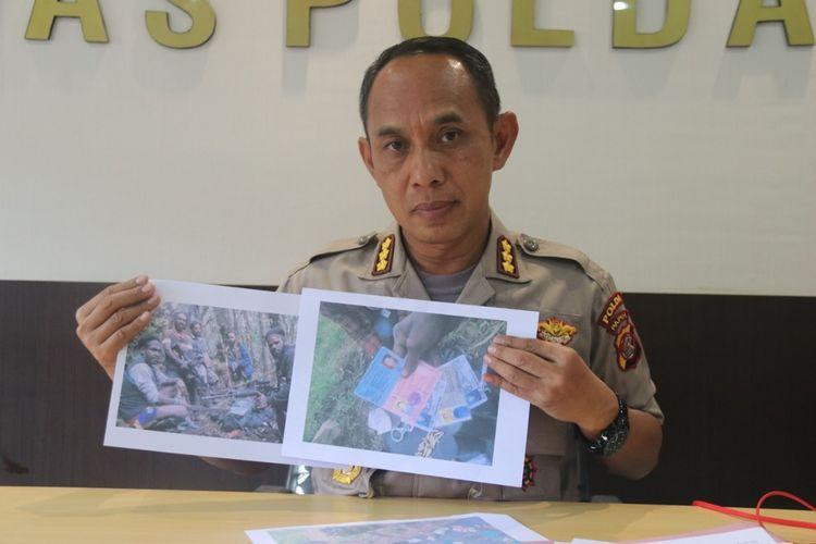 Kabid Humas Polda Papua Kombes Polisi Ahmad Musthofa Kamal saat memberikan keterangan pers, Senin (6/1/2020).