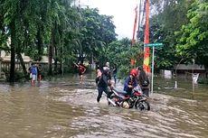 Jalan Karang Bolong Raya Ancol Banjir, Apartemen Terendam, Kendaraan Mogok