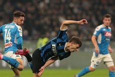 Leg Kedua Semifinal Coppa Italia Napoli Vs Inter Milan Resmi Ditunda