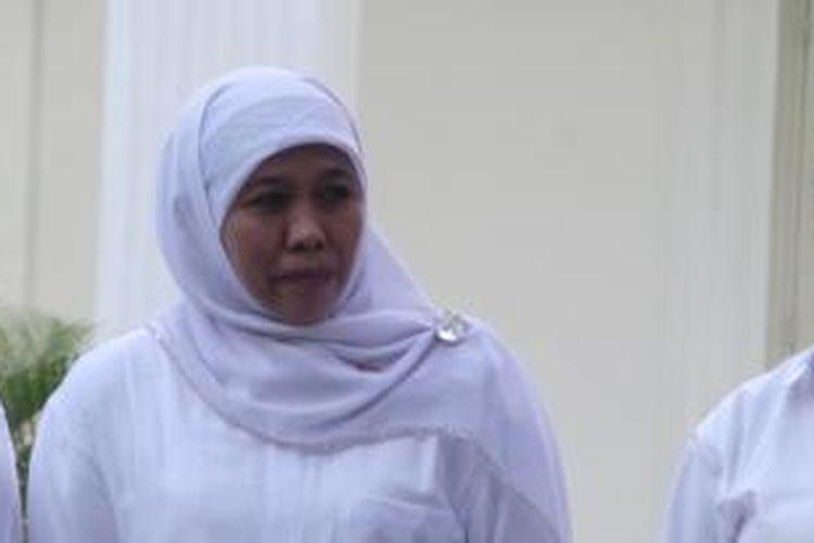 Khofifah Indar Parawansa terpilih sebagai Menteri Sosial.