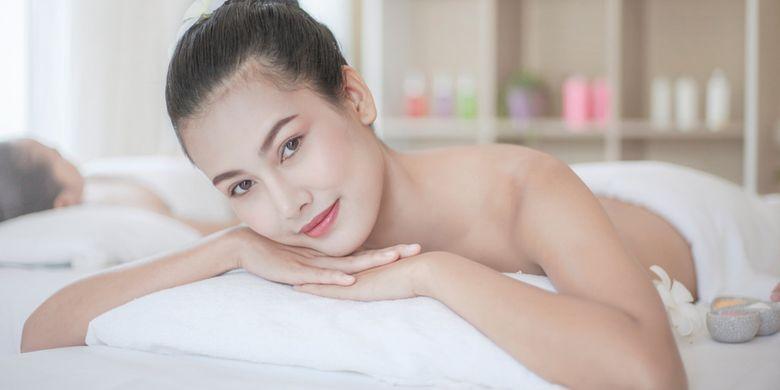 healthy skin illustration