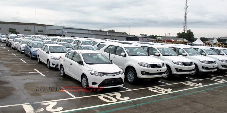 Ekspor Toyota terus digenjot dari Indonesia.