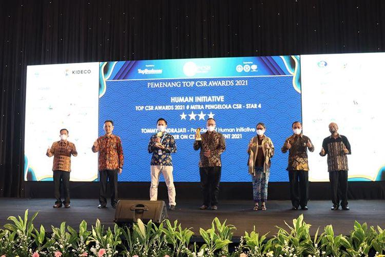 Human Initiative successfully won awards in TOP CSR Award 2021.
