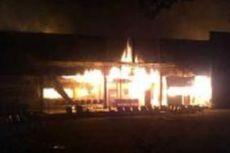 Lapas Tanjung Gusta Terbakar, Ratusan Napi Kabur