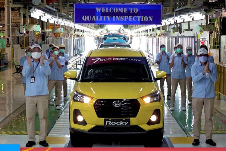 Produksi 7 juta unit Daihatsu di Indonesia