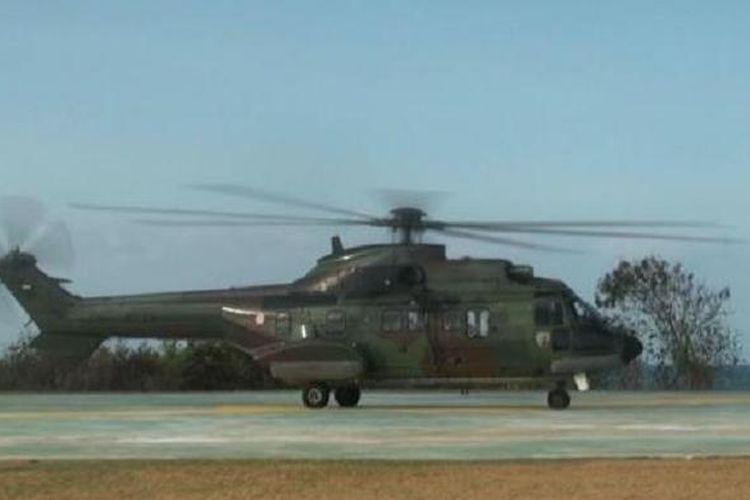 Ilustrasi helikopter Super Puma
