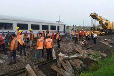 KA Sancaka Tabrak Truk, Evakuasi Lokomotif Diselesaikan Hari Ini
